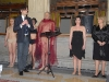 Francesco e la Donna nera - inauguraz_tela_Annigoni