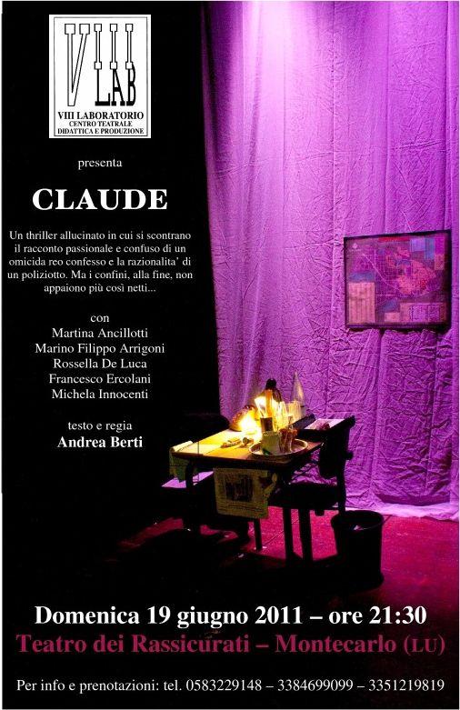 locandina Claude