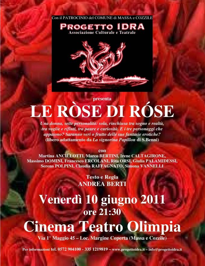 locandina di le rose di rose