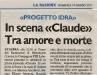 Claude su La Nazione