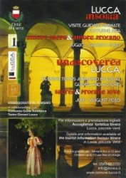 """Manifesto di """"Lucca insolita"""""""