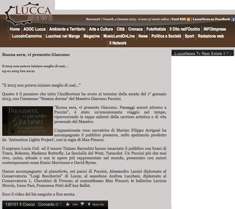 Lucca News